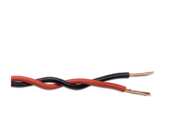 Resultado de imagen de cable trenzado rojo/negro