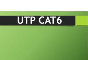 Utp Cat6