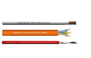 Cables de seguridad y sist. contraincendios