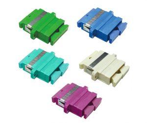 Adaptadores de fibra óptica