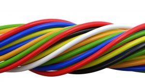 CABLES: COAXIALES, ELECTRICIDAD, SEGURIDAD Y BUS