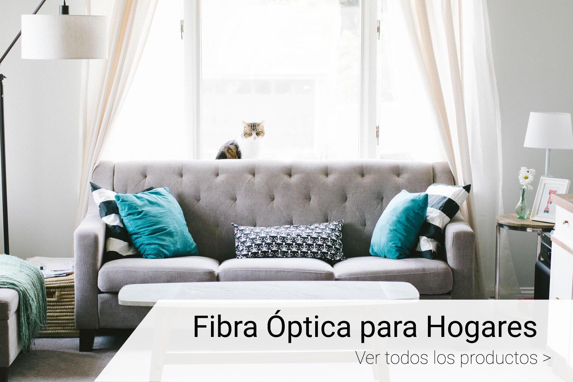 fibra optica para hogar